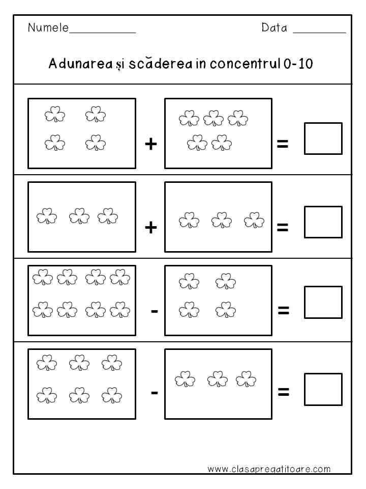 matematica si explorarea mediului clasa 1