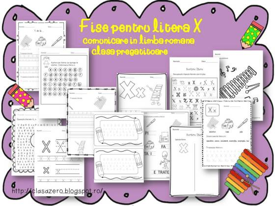 litera X prezentare